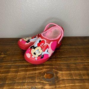 Crocs Minnie Mouse clogs size J3